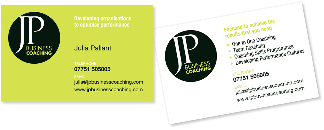 CHRIS HOPKINS DESIGN | JP Business Coaching required a new ...
